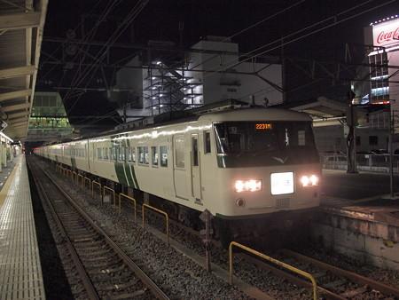 185系回送   東海道本線小田原駅02