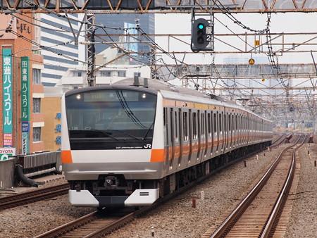 E233系快速 中央本線高円寺駅