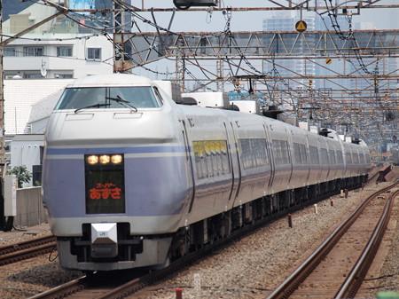 E351系特急スーパーあずさ 中央本線高円寺駅