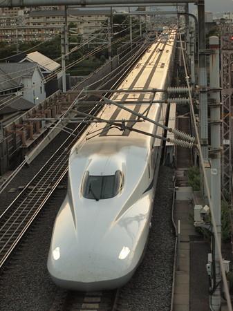 N700Aのぞみ 東海道新幹線京都~米原02