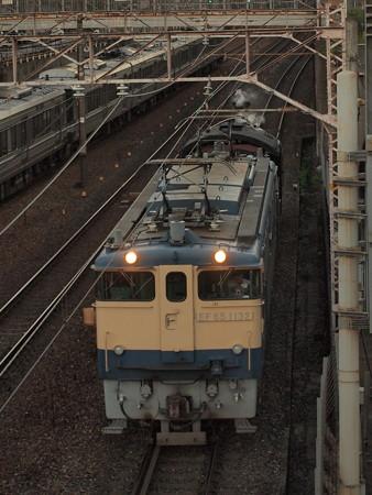 EF65 SL北びわこ回送 東海道本線山科~京都