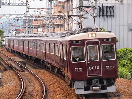 阪急6000系普通 阪急宝塚線石橋駅01