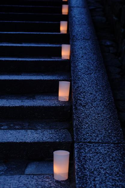 燈花の灯り