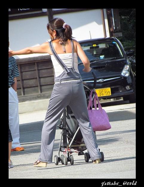 Photos: 白川郷で出合った素敵な女性(ひと)