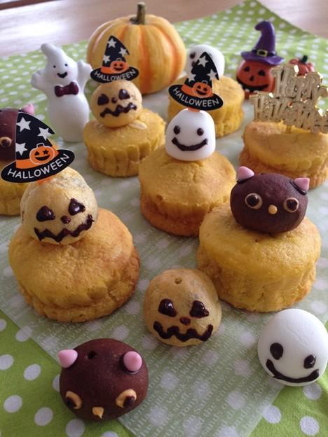 Photos: ハロウィンカップケーキ