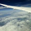 写真: 一万二千メートル上空
