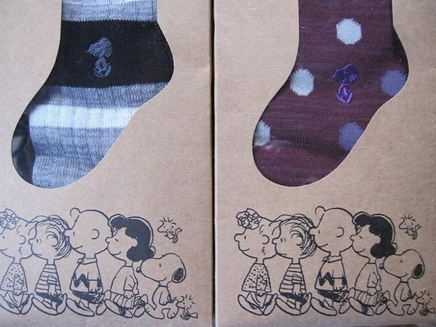 スヌーピー靴下