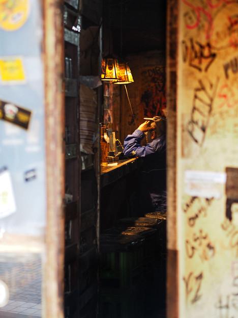 ドブ板通り_ドア