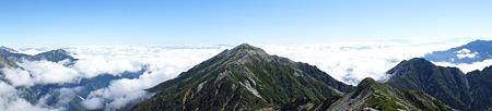 蓮華岳 パノラマ
