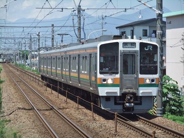 東海道線211系5000番台 LL20編成