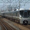 Photos: 琵琶湖線225系0番台 I6編成他12両編成