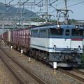 Photos: EF65 2087+コキ