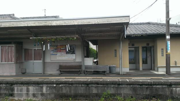 風鈴鳴る駅