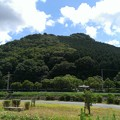 写真: 空高き晴れて青