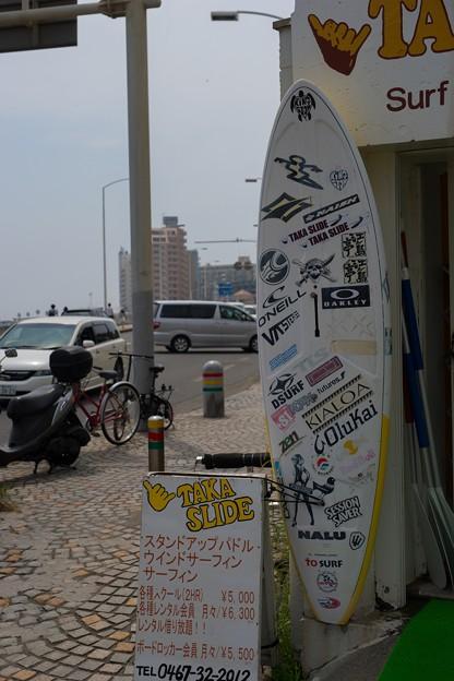 江ノ島のサーフショップ