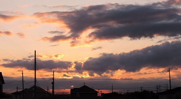 秋の夕景・・・7   09:20