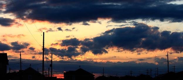 秋の夕景・・・8   09:20