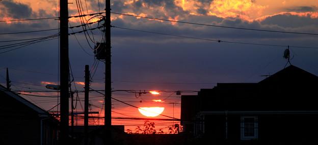 秋の夕景・・・9  09:20