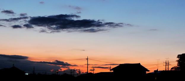 秋の夕景・・・10   09:20