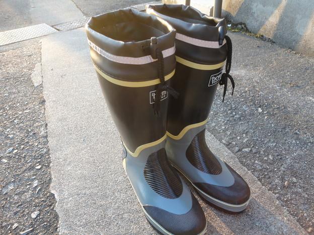 2015/09/15長靴