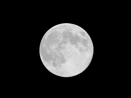 中秋の名月(jpeg撮って出し)
