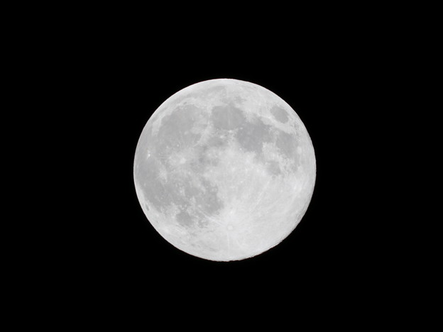 Photos: 中秋の名月(jpeg撮って出し)