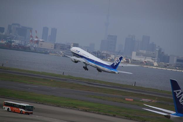 ANA Boeing 777-281/ER(JA743A) 2