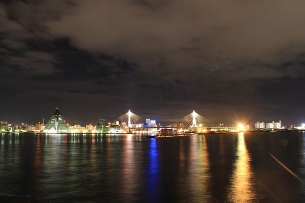 青森港 -9- 夜景