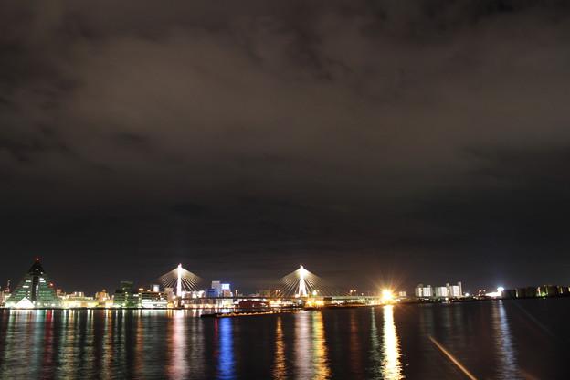 青森港 -12- 夜景