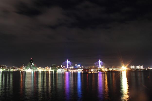 青森港 -14- 夜景