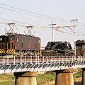 Photos: ED5083 【臨時特大貨物列車】シキ回送