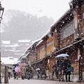 Photos: 雪の金沢東山