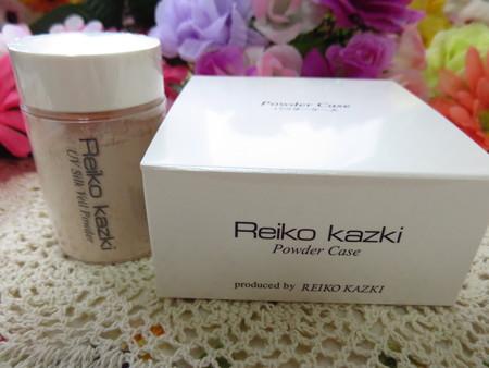 REIKO KAZKI・UVシルクベールパウダー (9)