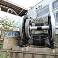 Photos: 電気機関車の動輪