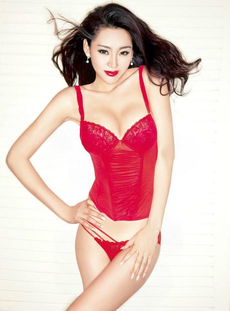 紅いビキニと赤い下着の色っぽいさッ 今日の気になる小姐 8-11 (3)