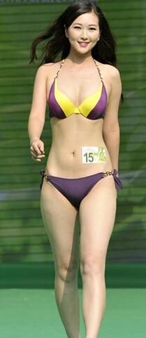退役小姐が参加のビキニコンテスト 今日の大陸小姐 9-16 (3)