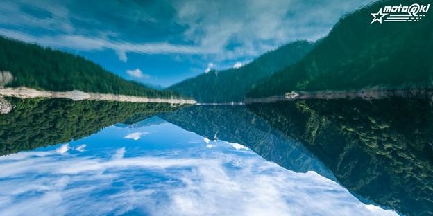Photos: 逆さ水鏡