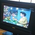 写真: 俺のテレビ、デジアナで復活。しかし、額縁状態(^_^;)