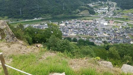 竹田城跡から見る景色