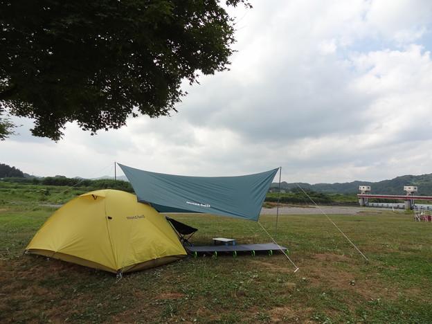 20150808_03 辰ノ口親水公園キャンプ?