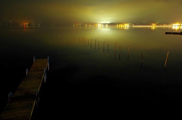 2015富士山麓・夏66「山中湖」霧にむせぶ夜