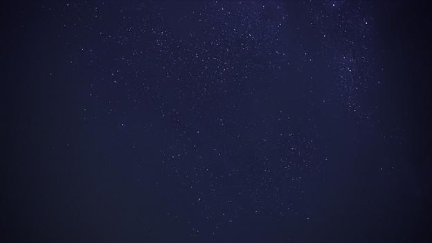 流星は見えず・・・