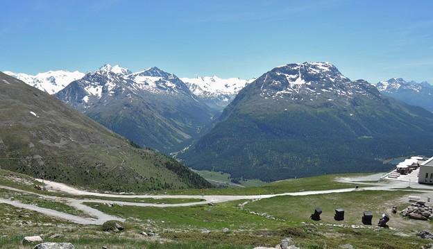 ムオタス・ムラーユからの眺望