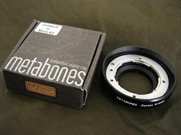 写真: Metabones Contax G マウントアダプターを買ってみた_1