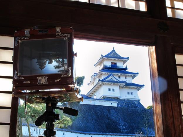 2012年2月19日 掛川城 二の丸御殿にて