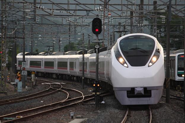 E657系K11編成 集約臨時列車