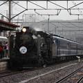SLふくしまDC号 福島入線 (2)