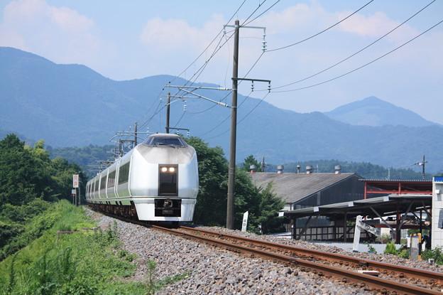 651系K105編成 9741M 集約臨時列車 (1)