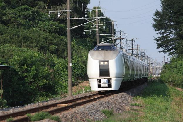 651系K105編成 9744M 集約臨時列車