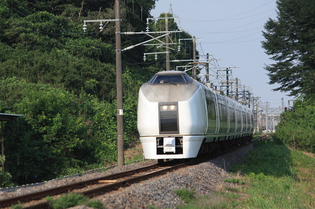 651系K105編成 9744M 集約臨時列車 (2)